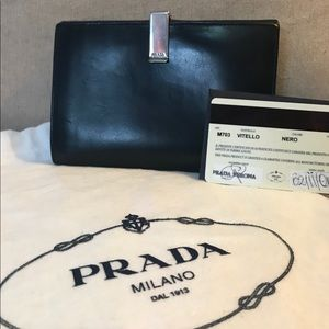 Authenticated Prada Leather wallet
